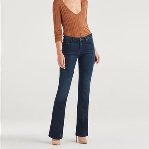 "7 for all mankind ""A"" Pocket Flare in Tideland"